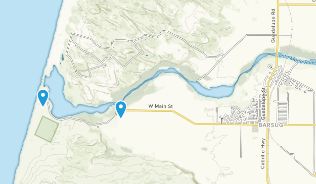 Guadalupe, California Map