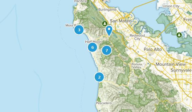 Half Moon Bay, Kalifornien Map