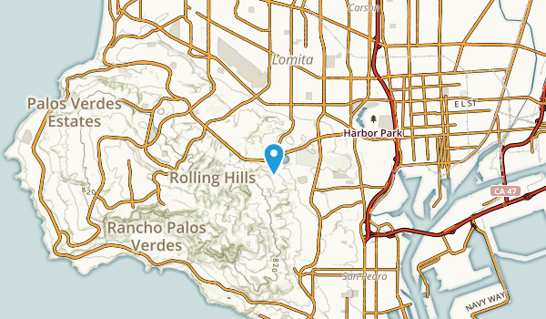 Harbor Hills, California Map