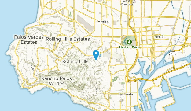 Harbor Hills, California Map