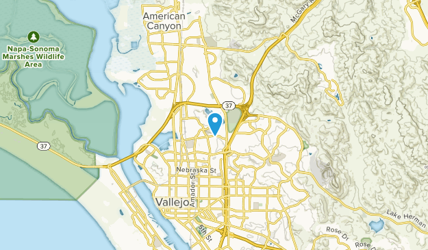 Harry Floyd Terrace, California Map