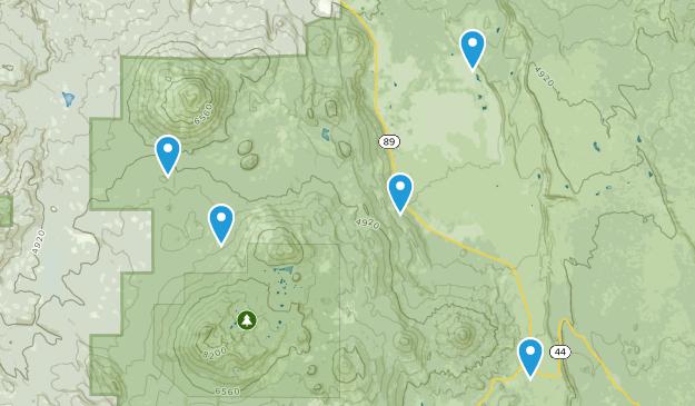 Hat Creek, California Map