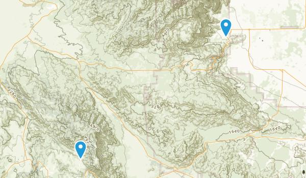 Hellhole Palms, California Map