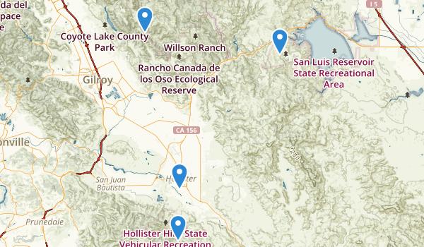 Hollister, California Map