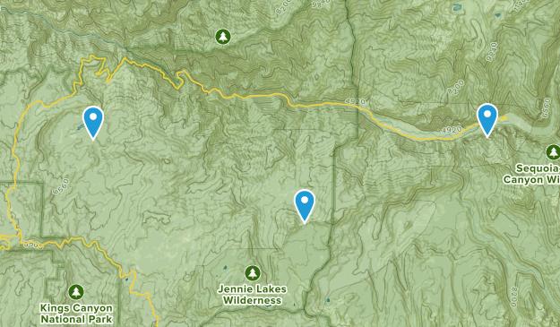 Hume, California Map