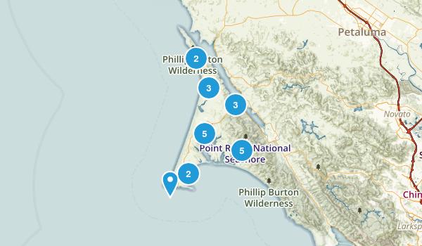 Inverness, California Map