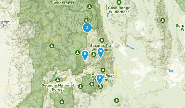 Inyokern, California Map