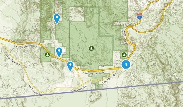 Jacumba, California Map