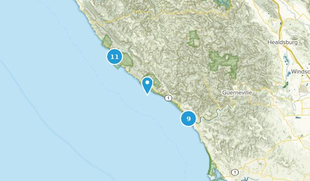 Map Of Jenner California.Best Trails Near Jenner California Alltrails