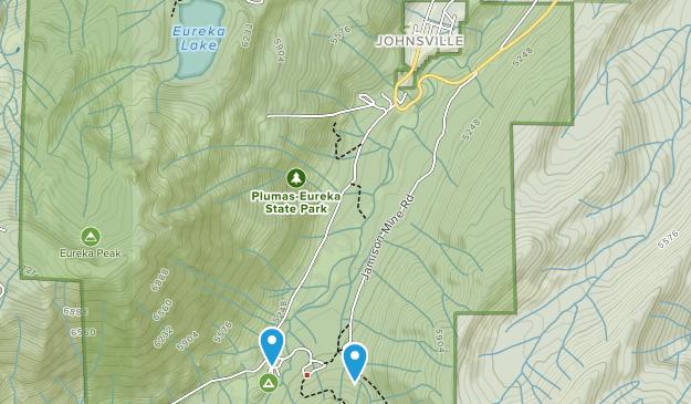 Johnsville, California Map