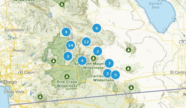 Julian, California Map