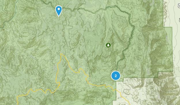 Kennedy Meadows, California Map