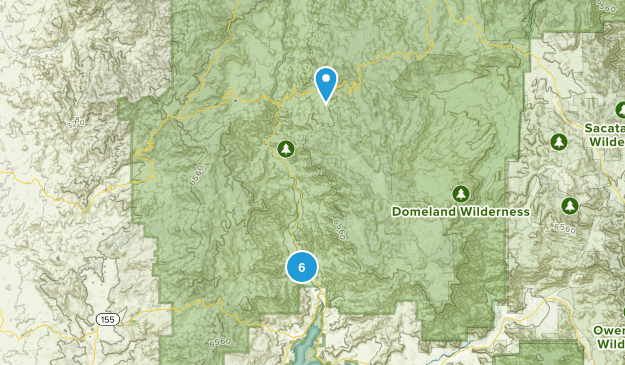 Kernville, California Map