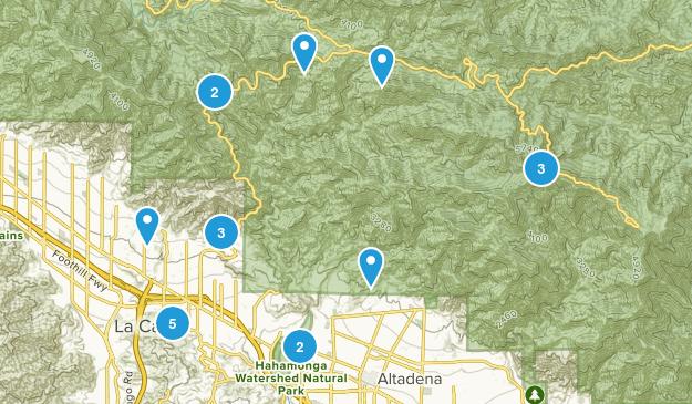 La Canada Flintridge, California Map