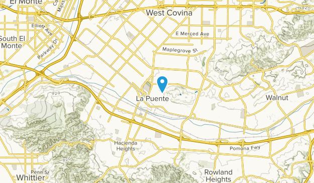 La Puente, California Map