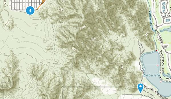 La Quinta, California Map