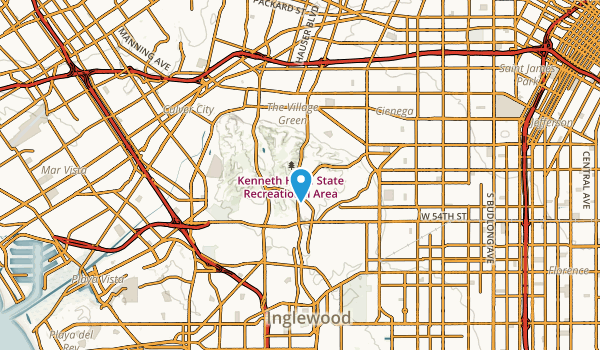 Ladera Heights, California Map