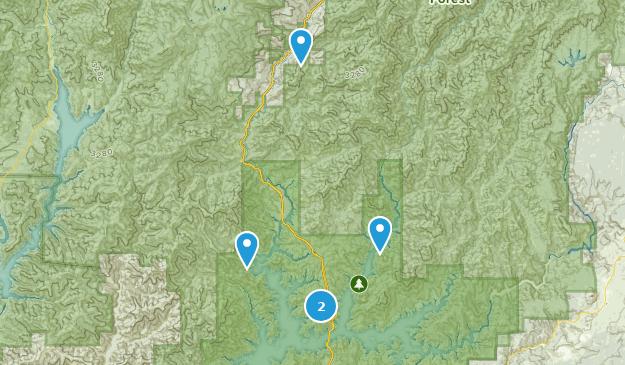 Lakehead, Kalifornien Map