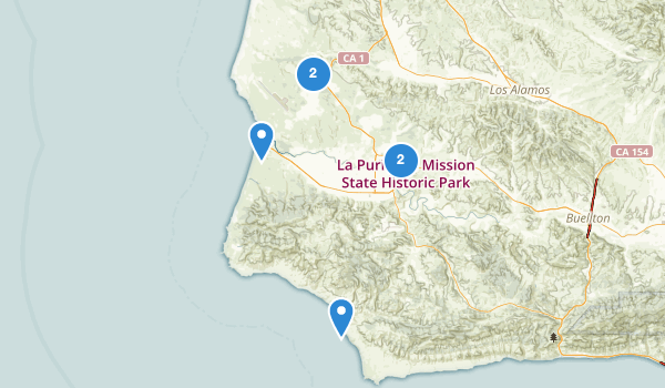 Lompoc, California Map