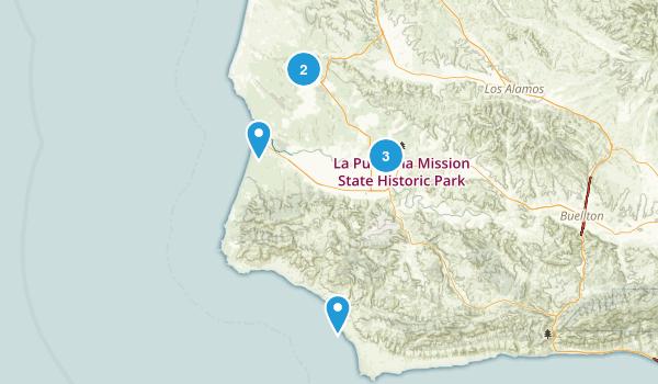 Lompoc, California Map