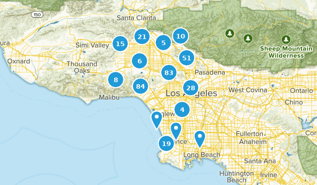 Best Trails Near Los Angeles California Alltrails - Los-angeles-in-us-map