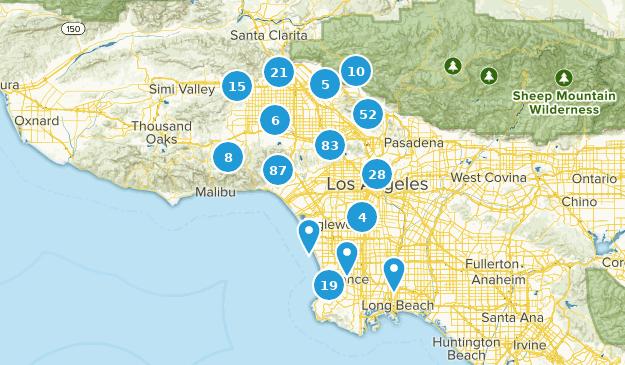 Map Of California Los Angeles.Cdn Assets Alltrails Com Static Map Production Loc