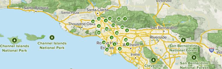 Best Trails Near Los Angeles California Alltrails