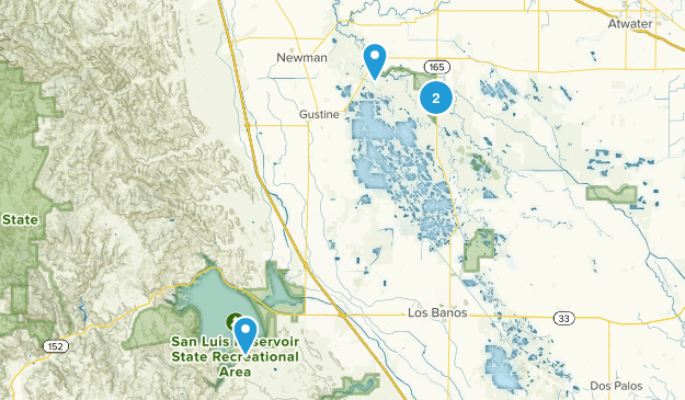 Los Banos, California Map