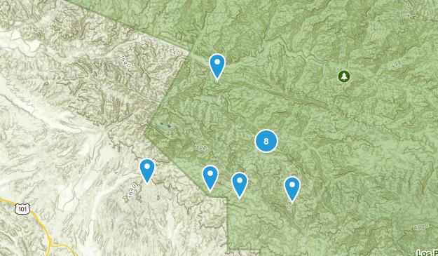 Los Olivos, California Map