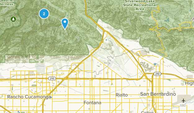 Lytle Creek, California Map