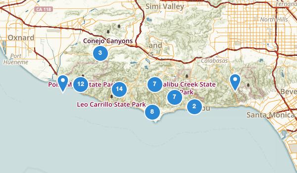 Malibu, California Map