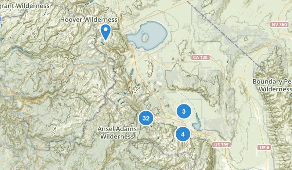 Mammoth Lakes, California Map