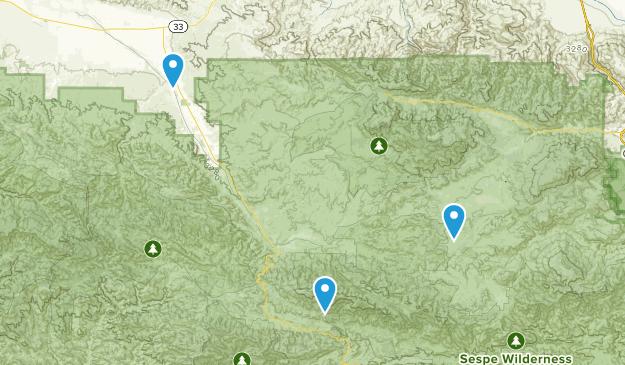 Maricopa, California Map