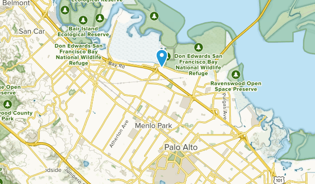 Menlo Park, California Map