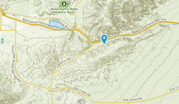 Mojave, California Map
