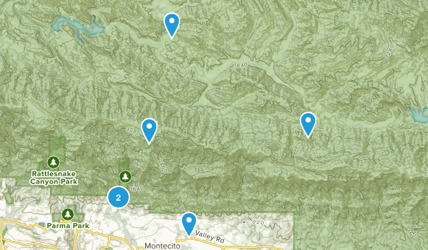 Montecito, California Map