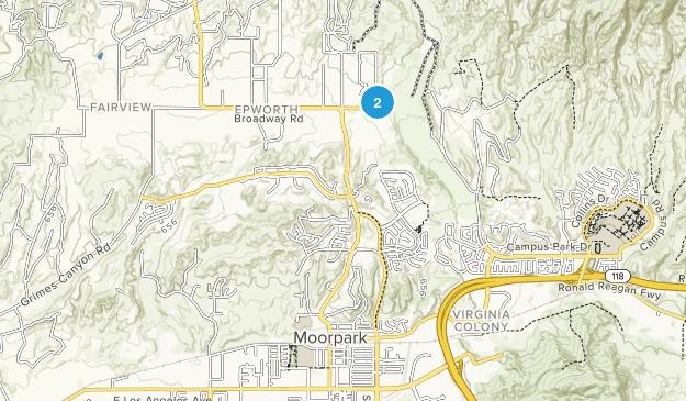 Moorpark, California Map