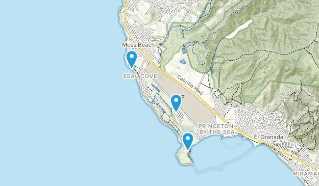Moss Beach, California Map