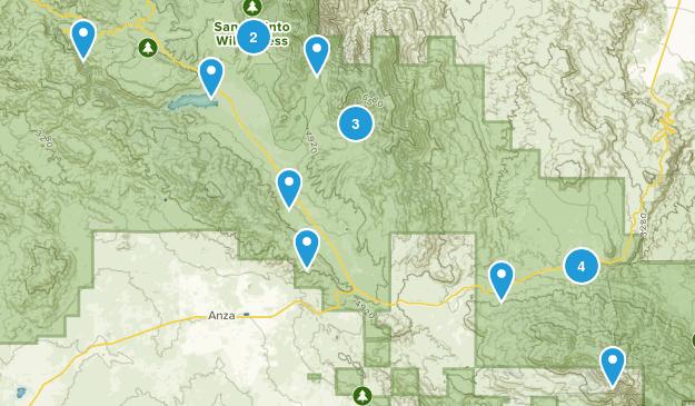 Mountain Center, California Map