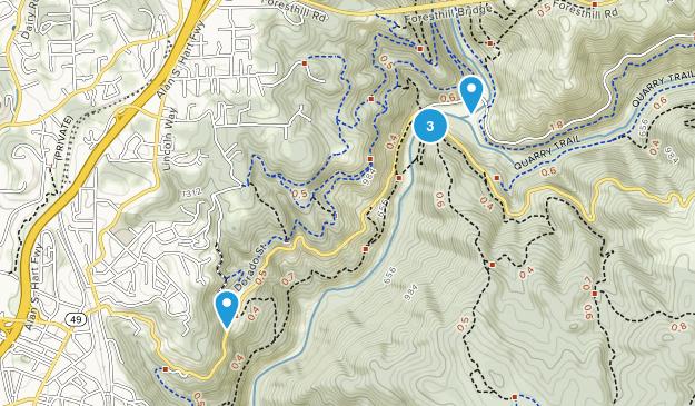 North Auburn, California Map