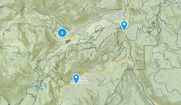 Olympic Valley, California Map