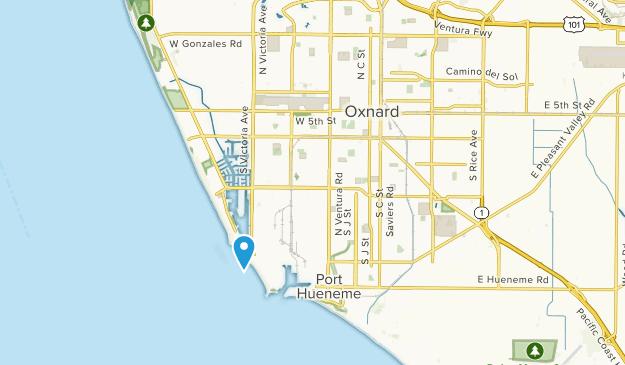 Oxnard, California Map