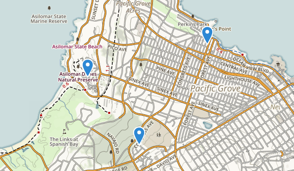 Pacific Grove, California Map