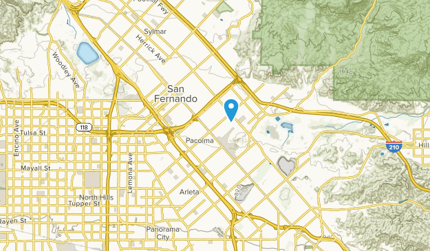 Arletacalifornia Map.Best Trails Near Pacoima California Alltrails