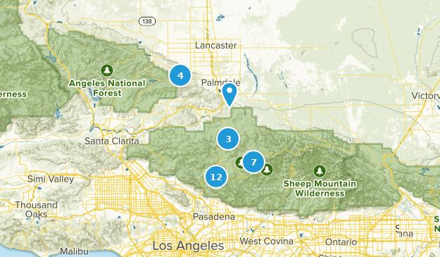 Palmdale, California Map