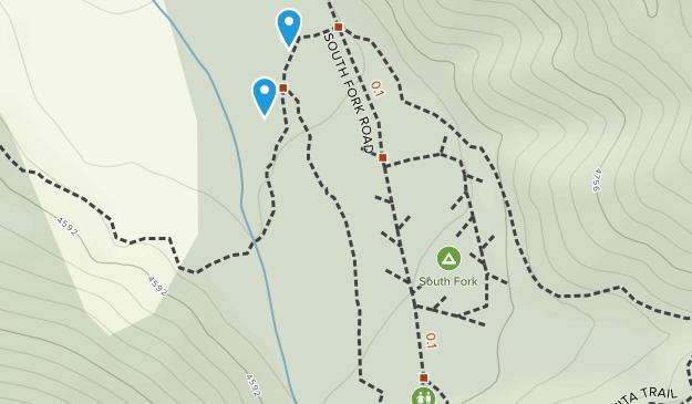 Paradise Springs, California Map