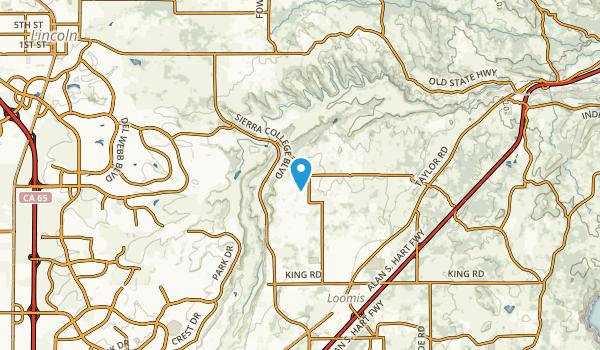 Penryn, California Map