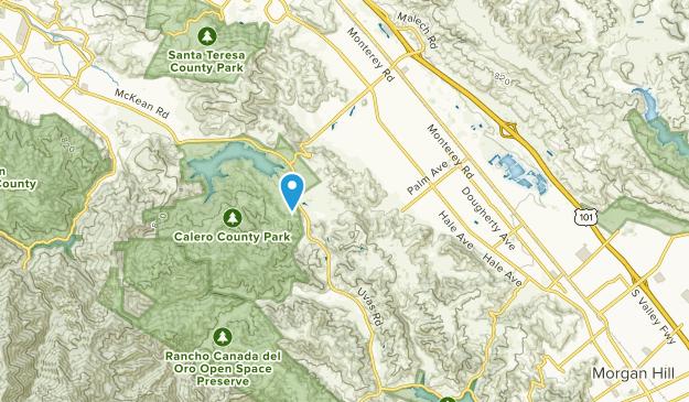 Perry, California Map