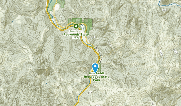 Phillipsville, California Map