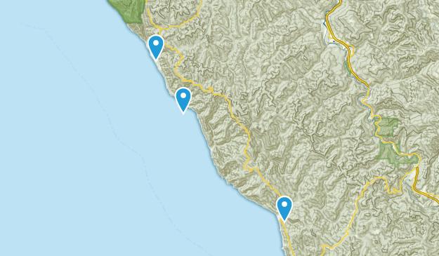 Piercy, California Map